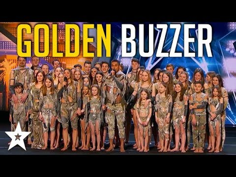Sensational Dance Crew Get Tyra Banks Golden Buzzer On America's Got Talent
