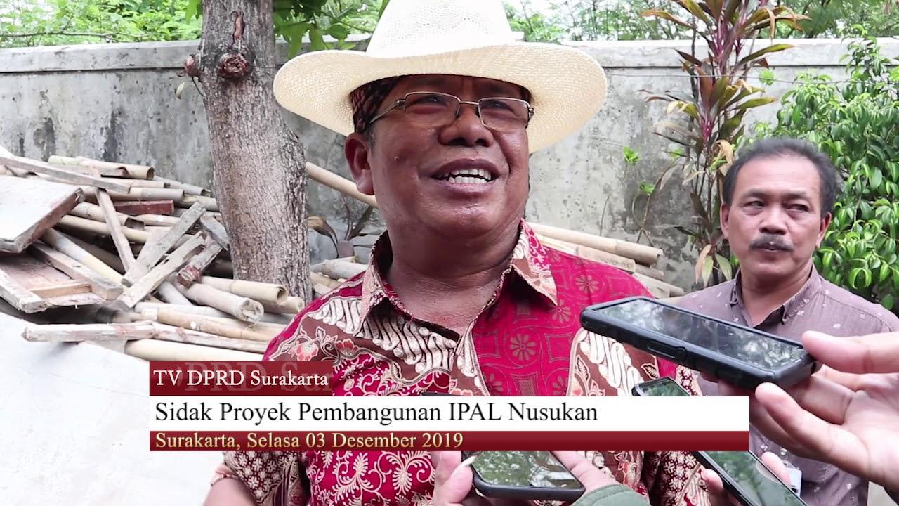 Selasa 03 Desember 2019 Sidak Komisi II di Pembangunan Ipal Nusukan