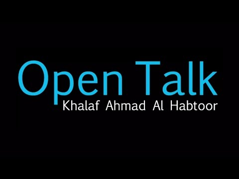 "<span style='text-align:left;'>Khalaf Ahmad Al Habtoor launches ""Open Talk"" series</span>"