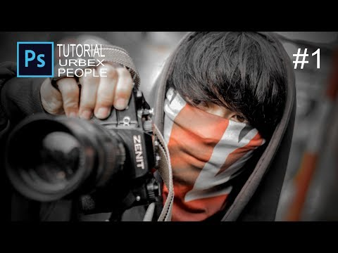 TUTORIAL Photoshop CC 2015 : Urbex People #1