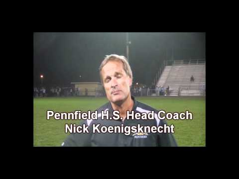 Pennfield Head Coach Nick Koenigsknecht.