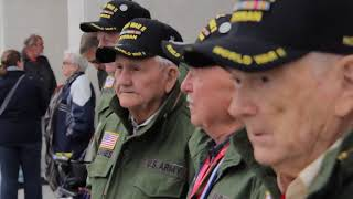 Video WWII 502nd PIR VET REUNITED WITH LOST GEAR MP3, 3GP, MP4, WEBM, AVI, FLV November 2018