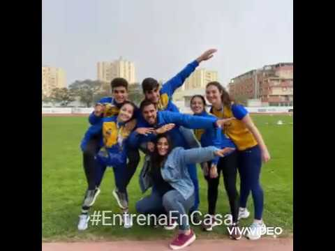 Video realizado por los entrenadres y atletas del Club Atletismo Isla Cristina