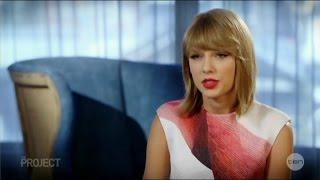 """Taylor Swift's """"Sweetest"""" Australian Tv Interview w/ Luke McGregor 21 10 2014"""