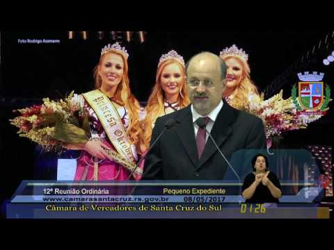 12ª Reunião Ordinária - 08/05/2017
