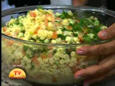 Macarrão ao forno e Torta de liquidificador - 28/07/2011