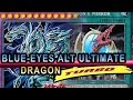 EYES Alternative ULTIMATE DRAGON (NEW fusion In Action) Turbo Ver  With Yuigioh Deck Profile