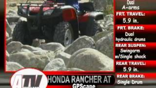 7. ATV Television - 2003 Honda Rancher GPScape 4x4 Test