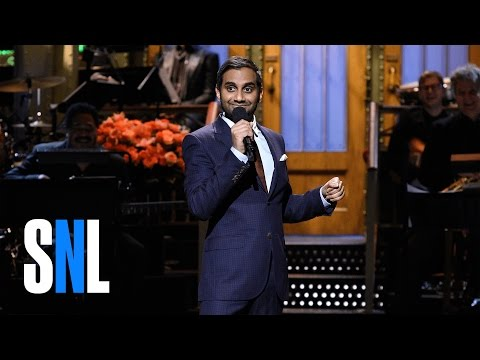 Aziz Ansari Addressed Trump In His SNL Opening