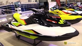 1. 2015 Sea Doo Wake 155 Jet Ski - Walkaround - 2015 Quebec Boat Show