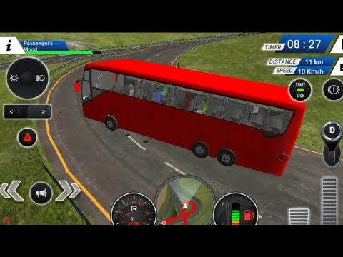 EURO BUS DRIVING SIMULATOR GAME 2018 #Free Bus Games Download #Bus Transporter Games Videos