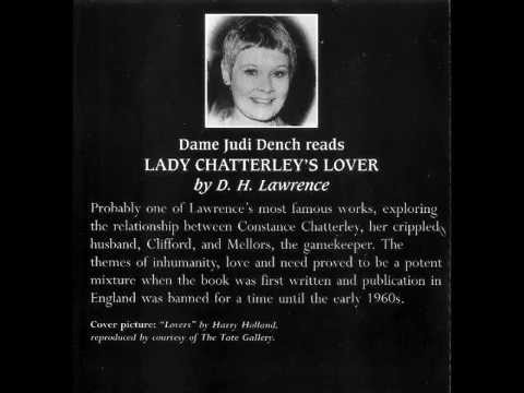 Judi Dench Reads D  H  Lawrence   Lady Chatterley's Lover   Part 1