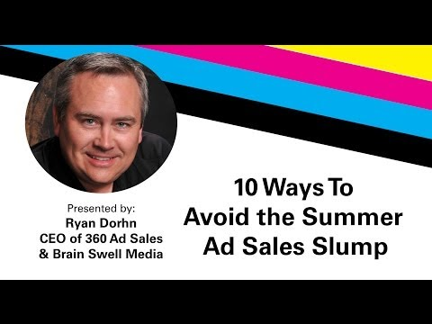 10 Ways to Avoid the Summer Ad Sales Slump