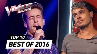 TOP 10 | BEST 'Blind Auditions' of 2016 | The Voice Global Video