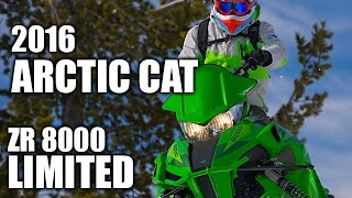 8. TEST RIDE: 2016 Arctic Cat ZR 8000 Limited
