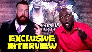 TMNT 2 Exclusive Interview w/ Sheamus & Gary Anthony Williams (Bebop & Rocksteady) by JoBlo Movie Trailers