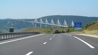 Millau France  city images : France: A75 Marvejols - Millau