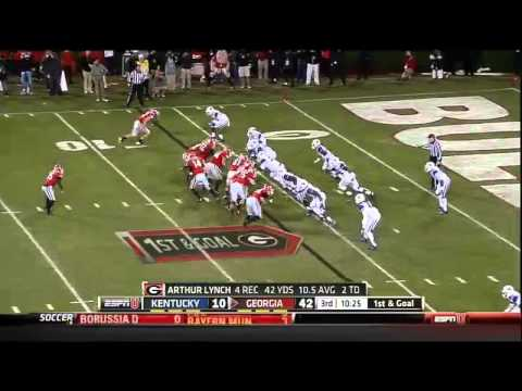 11/23/2013 Kentucky vs Georgia Football Highlights