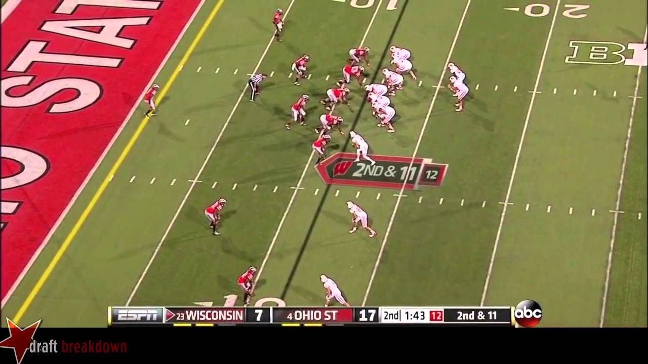 Bradley Roby vs Wisconsin (2013)