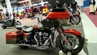 3. 2013 Harley-Davidson Touring CVO Road Glide Custom - Walkaround - 2013 Montreal Motorcycle Show