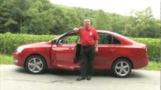 New / Nová Škoda Rapid 2012 - European Test / Review - Auto.cz