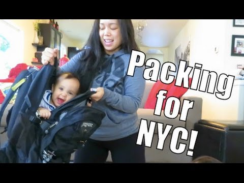 Packing for NYC!!! – February 13, 2015 –  ItsJudysLife Vlogs