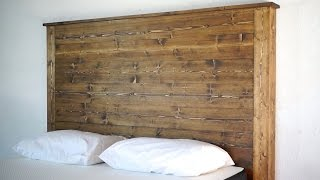 How To Make a Headboard | Modern Builds | EP.  26