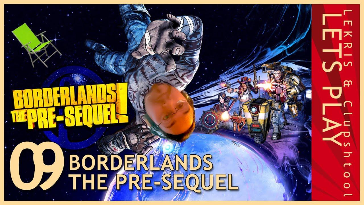 Let's Play Together Borderlands - The Pre-Sequel #09 - Von der Kunst nicht fahren zu können