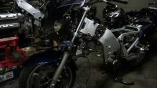 7. FJR1300 2010 to 2005 Engine swap and differences.