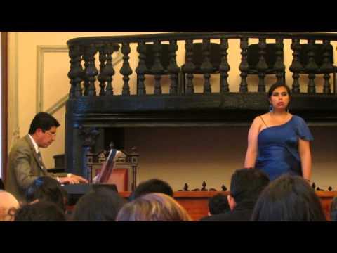 Luz Vizcarra, mezzosoprano - .Nel profondo cieco mondo - Orlando Furioso - Vivaldi