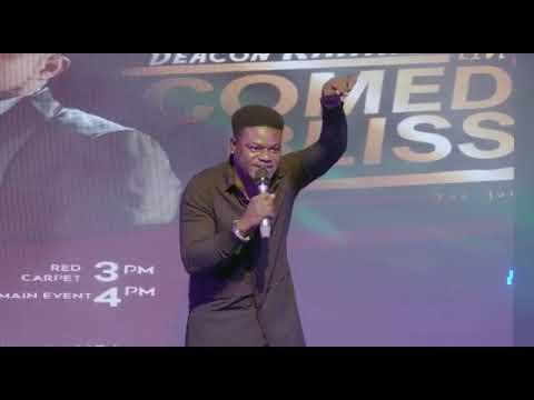 Mc Pashun @ Deacon Kahmoh Live in Comedy Bliss  2019