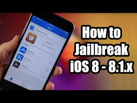 iPod - How To Jailbreak iOS 8 Untethered - Download Pangu Jailbreak here How to Install Cydia: http://bit.ly/1wlMpCD Download Pangu: http://bit.ly/1wtJ1qv Follow me on Twitter for iOS 8 Jailbreak...
