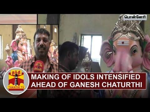 Making-of-Lord-Ganesh-Idols-intensified-ahead-of-Vinayaga-Chathurthi-Festival