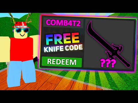 Murder Mystery 2 - New Free Knife Code! (2020)