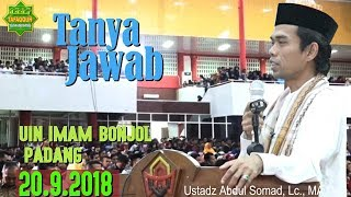 Video Tanya Jawab (UIN Imam Bonjol Padang, 20.9.2018) - Ustadz Abdul Somad, Lc., MA MP3, 3GP, MP4, WEBM, AVI, FLV September 2018