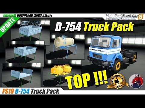 D-754 Truck Pack v1.1.0.0