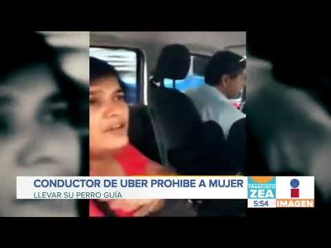 Conductor de Uber prohibe a mujer ciega que lleve a su perro guía
