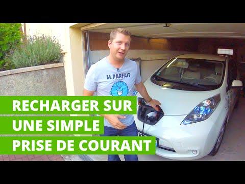 Recharger une voiture électrique sur une simple prise de courant