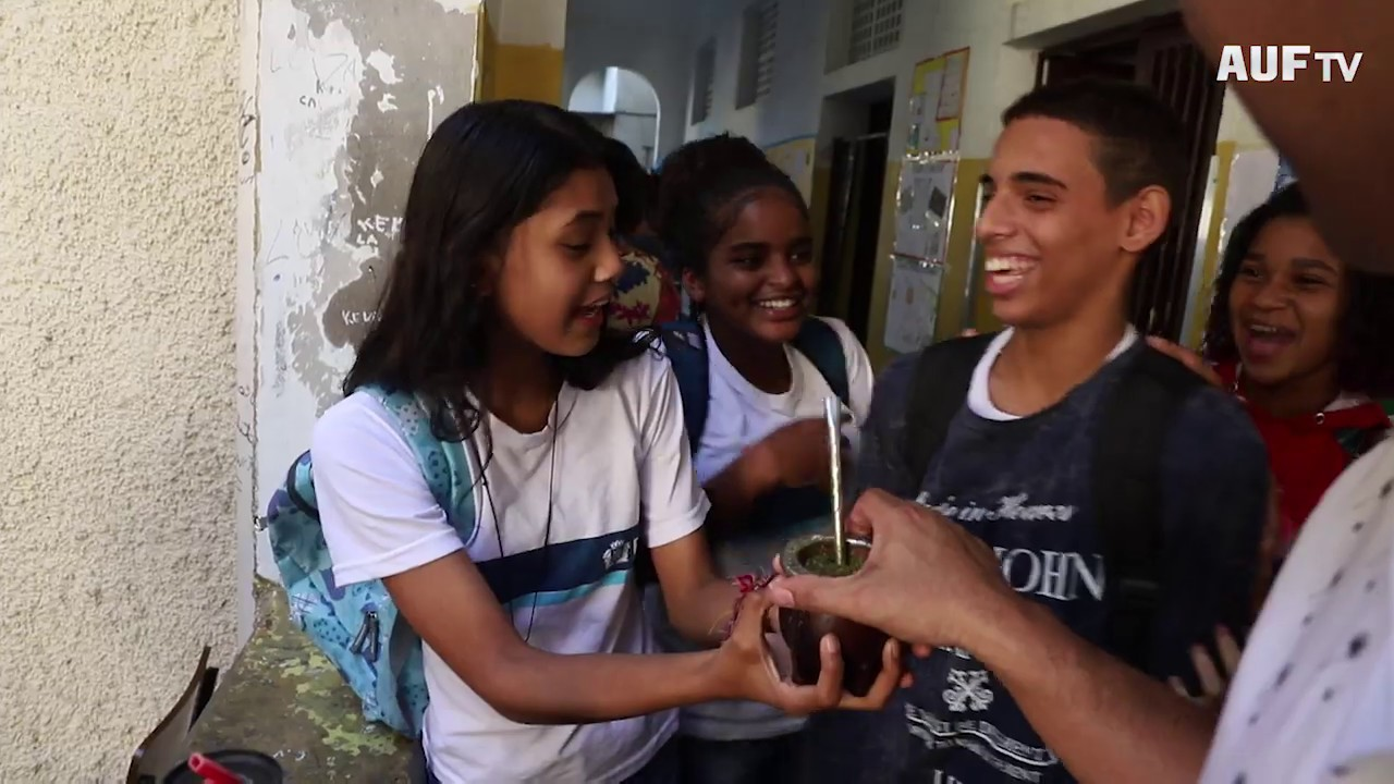 Visita a la escuela Uruguai de Río de Janeiro