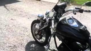 9. 2008 Yamaha VStar 1100 Custom