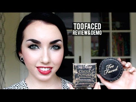 Too Faced Cocoa Powder Foundation | Review & Demo!