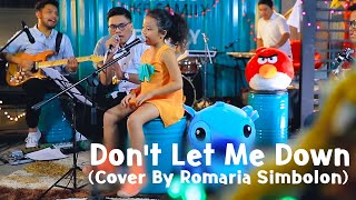 The Chainsmokers  - Don't Let Me Down Cover by Romaria Simbolon Video