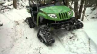 9. 2007 Arctic Cat Prowler XT H1 650 with TJD tracks