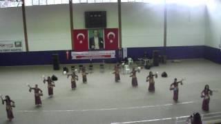 K.Ü. Modern Dans Kulübü Oryanyal-Roman Dans Gösterisi 2012