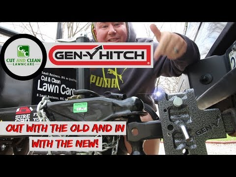 New Trailer Hitch Upgrade | GEN-Y Trailer Hitch Adjustable 16k Offset Drop Hitch