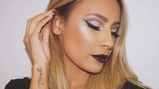 Vampy Rihanna inspired makeup look - Desi Perkins - YouTube