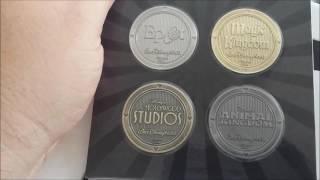 Coleção medalhas MAGIC KINGDOM - Park Disney - Collecione.Com