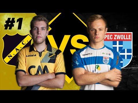 eDivisie | NAC Breda - PEC Zwolle