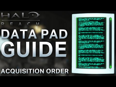 Halo Reach Data Pad Locations – Acquisition Order
