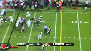 Duke Johnson vs Virginia Tech (2014)